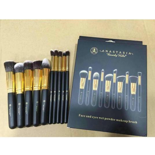 10 Pieces Makeup Brush Cosmetics Bigup
