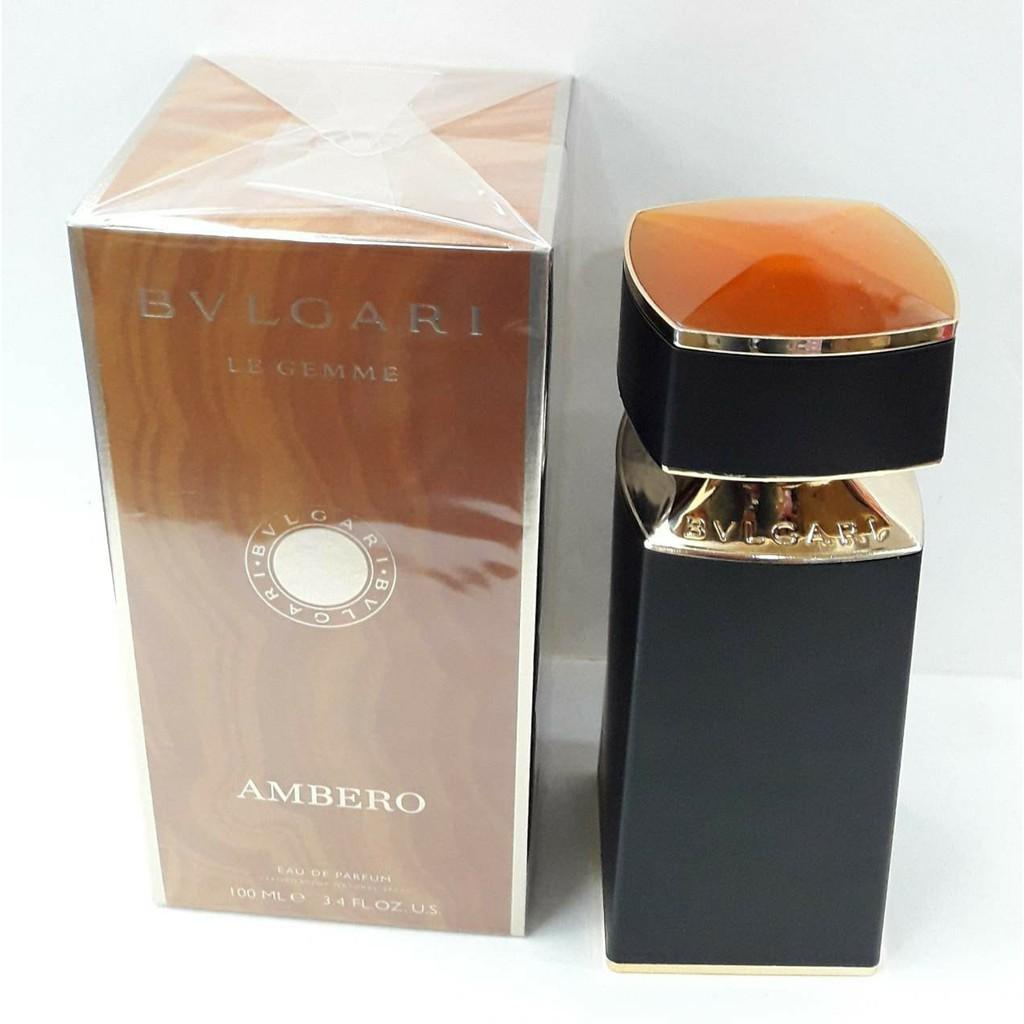 Bvlgari Le Gemme Ambero Eau De Parfum For Men 100ml Shopee Philippines