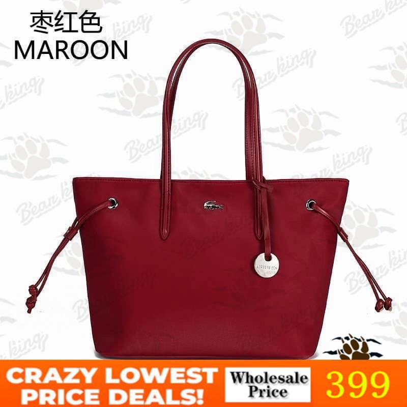 9f403634dc43 Lacoste handbag sling bag tote bag casual bag #185