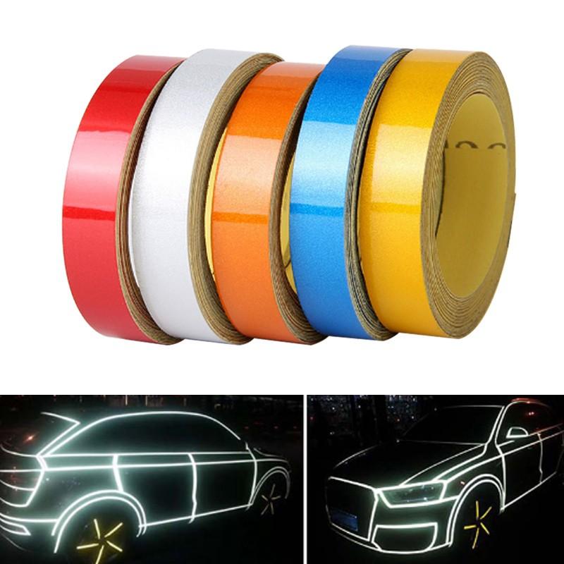 Stripe Wheel Reflective Tape Safety Decorative Car and Motrocycle Rim Sticker