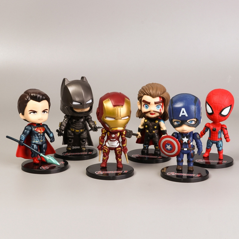 "Super Hero Avengers 6/"" Captain America Model Action Figure Decoration Toy"