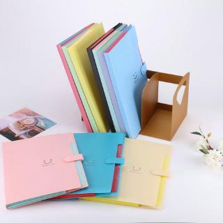 A6 Paper Expanding File Folder Pocket Accordion Document Organizer Stationery CF