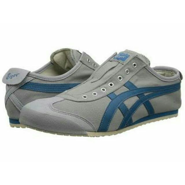 cheaper 1bcf7 01678 Onitsuka Tiger Mexico 66 Slip On Light Grey