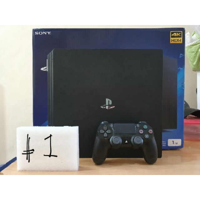 PS4 Slim Pro Fat Consoles with free games and warranty