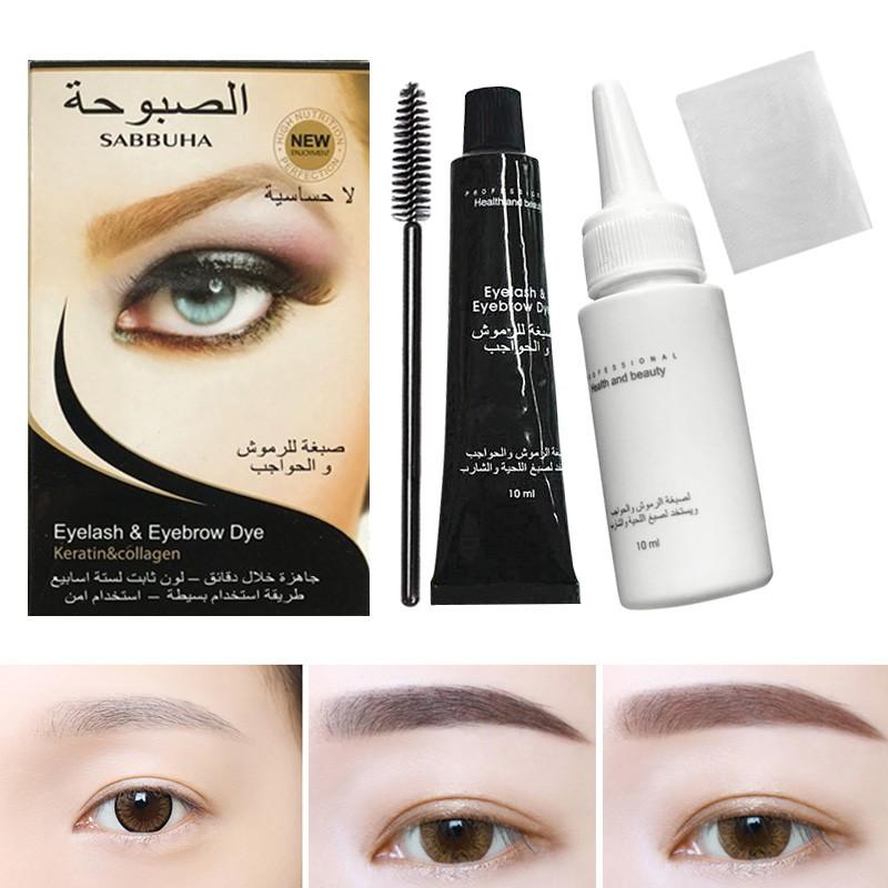 Eyebrow Eyelash Dye Tint Lash Kit Tinting Kit Shopee Philippines