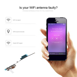 Inner Top WiFi Antenna Flex Cable for iPhone 4S NKY3 | Shopee