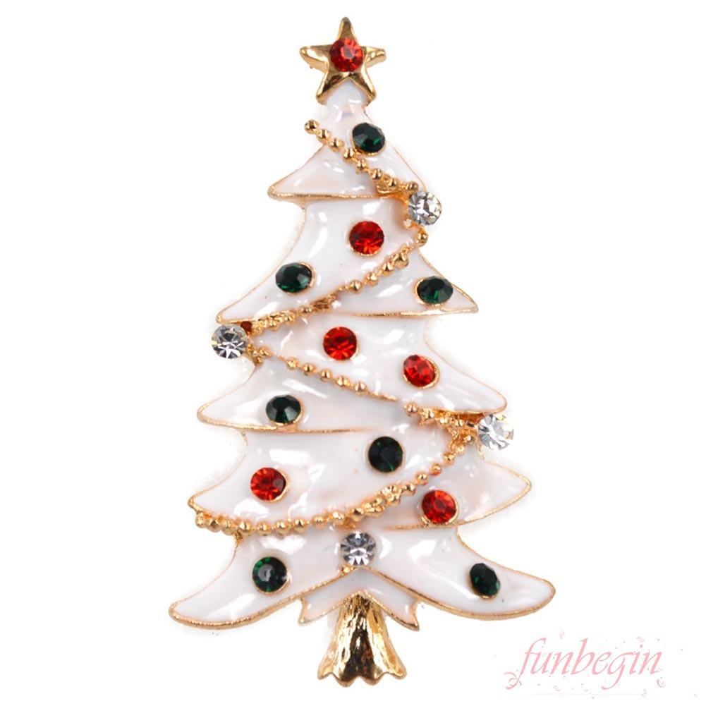 Jewelry Christmas Trees.Fashion Christmas Tree Brooch Pin Cute Jewelry Christmas Gif