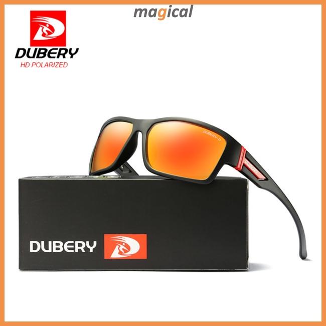 DUBERY Men Polarized Sport Sunglasses Riding Outdoor Driving Summer Eyewear New
