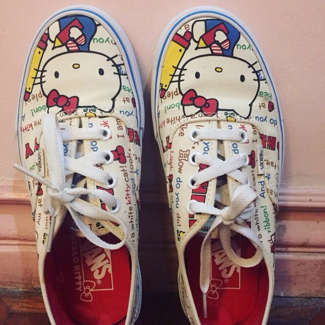 Authentic Hello Kitty Edition Vans  7a39eff7f