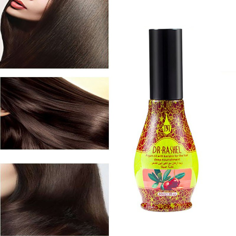 DR.RASHEL Argan Oil for Hair Treatment Repairing Nourishing Perm Dyed Hair  | Shopee Philippines