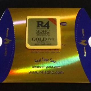 R4 GOLD PRO 2019 for DS DSi 3DS NTRBOOT 8GB / 16GB R4i