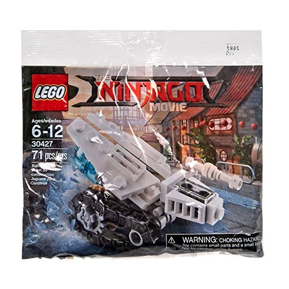 Lego 30427 Ninjago Movie Mini Ice Tank 71 Pcs Polybag New In Sealed Package