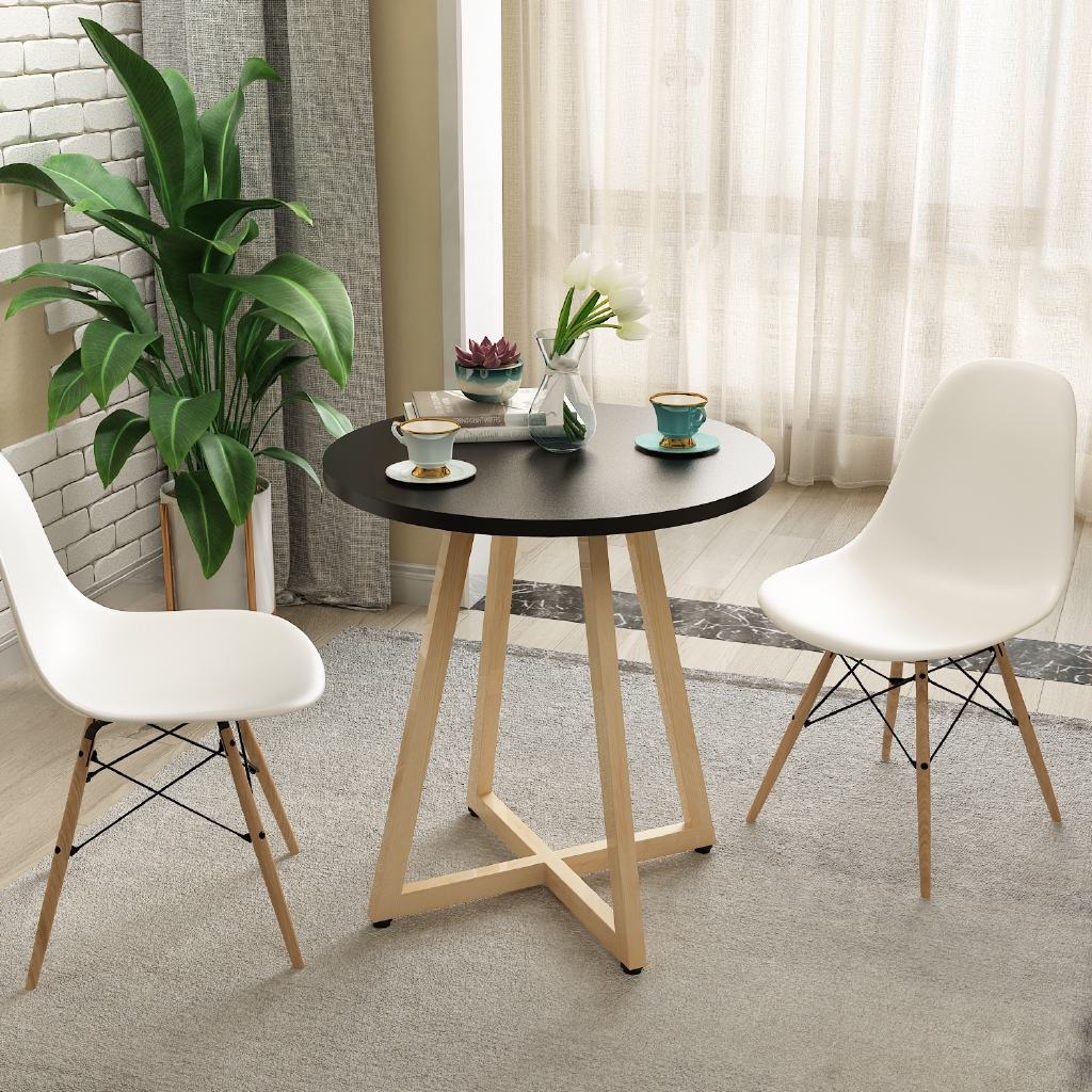Nordic Home Business Furniture Simple Modern Dining Table Shopee Philippines
