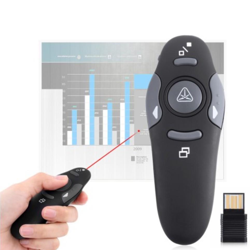 Pp 1000 Wireless Powerpoint Presenter Laser Pointer Shopee Philippines Pp1000