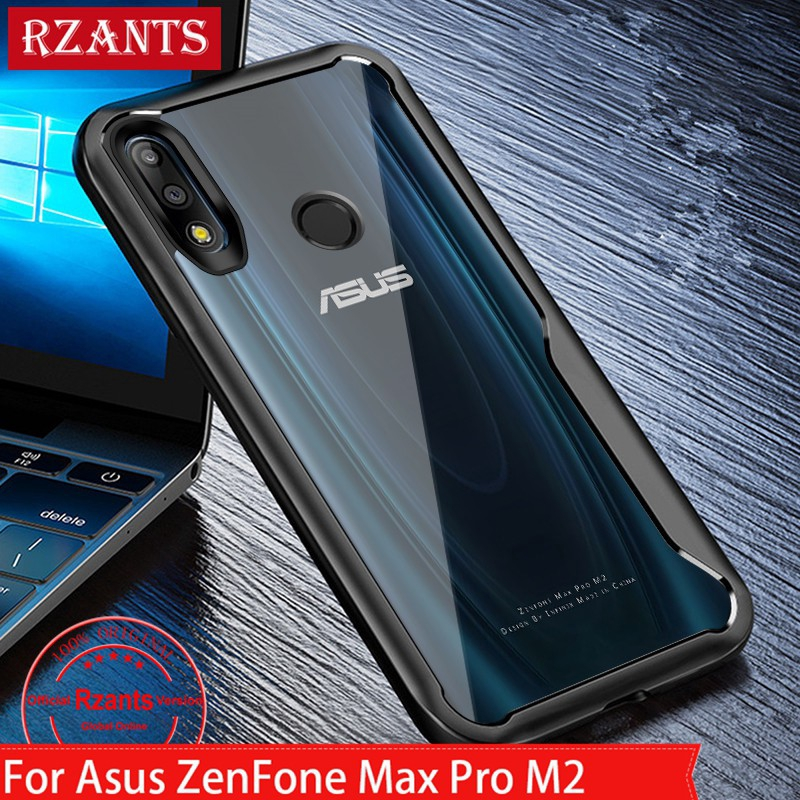 size 40 aace1 c7274 Asus ZenFone Max Pro M2 Case Clear PC Back Slim Thin Cover