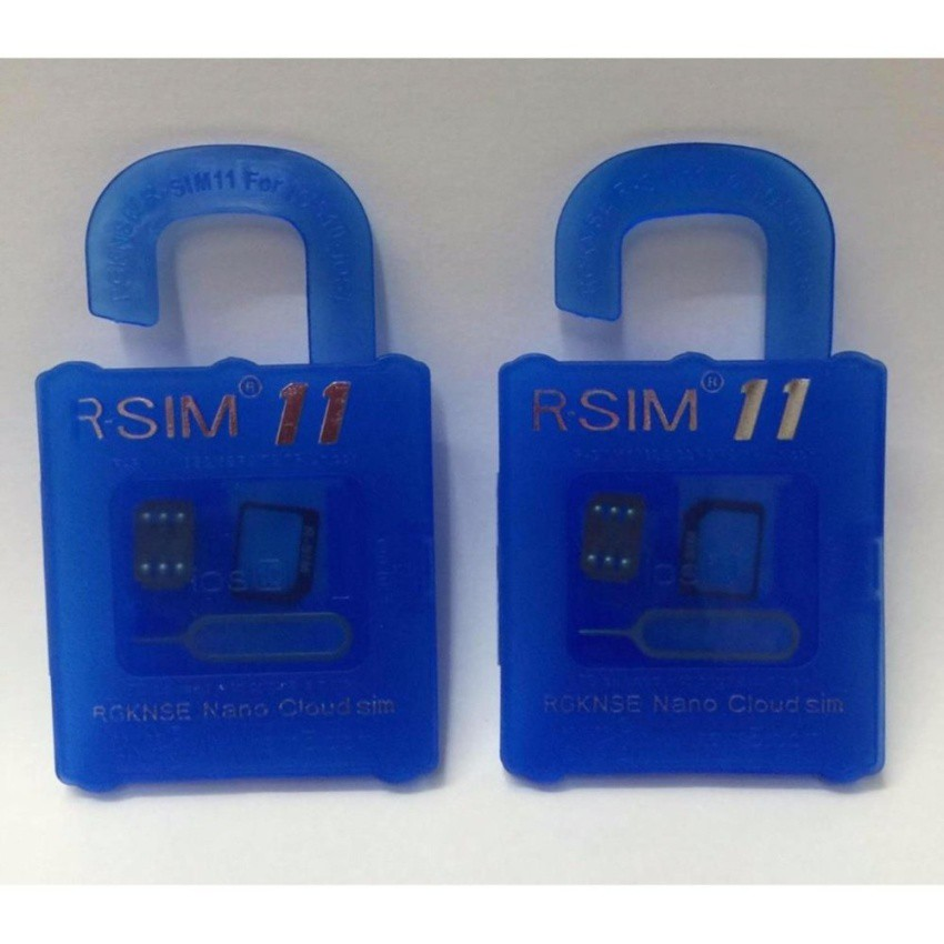 R-Sim Rs-11 11 The Best Unlock And Activation Sim/Set OF 2