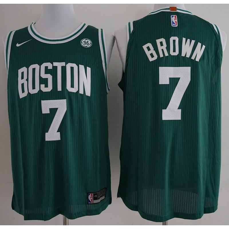 56db1ae06 Nike Boston Celtics Jaylen Brown NBA Jersey #7 est Top black | Shopee  Philippines