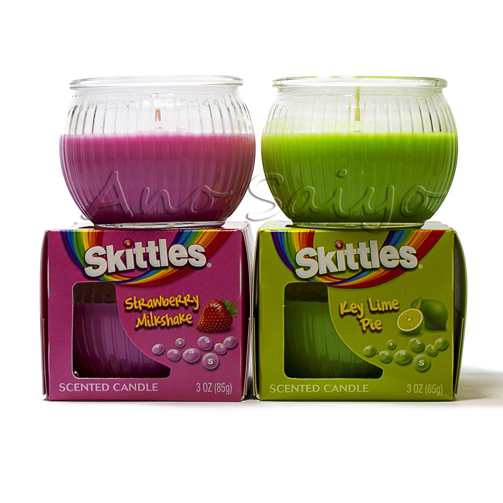 Skittles Candy Scented Candle Set