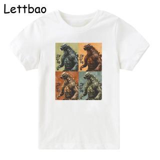 Roblox King Ghidorah Shirt Cartoon Boy T Shirt The King Of Monster Godzilla Prints Children S Clothes Summer Casual Boy T Shirt Shopee Philippines