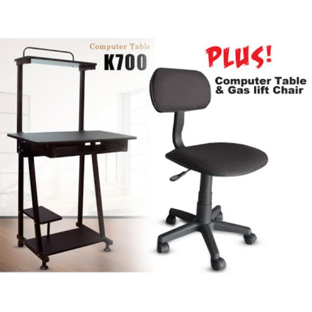 free shipping 59454 e8222 Computer table and gas lift chair COD Manila only