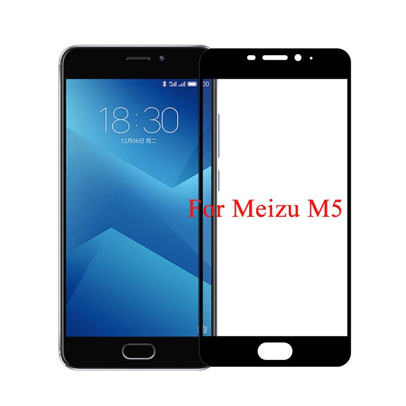 Full Cover Screen Protector For Meizu M5 S Note Tempered Glass Toughened  Film