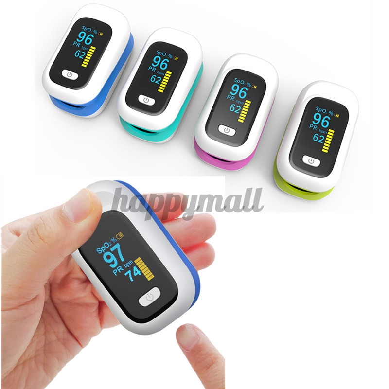 Mini OLED Finger-Clamp Pulse Oximeter Home Heathy Blood Oxygen Saturation |  Shopee Philippines