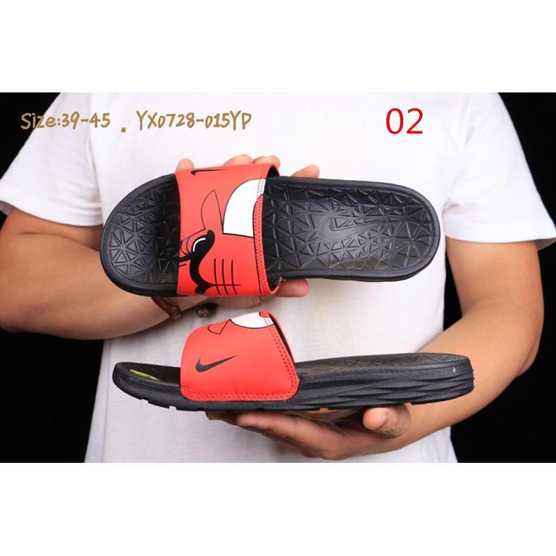 best service 13322 a7d16 miaoma【9 colors】NBA x Nike Benassi SolarSoft Slide 2 slippers mens  sandalsrunning