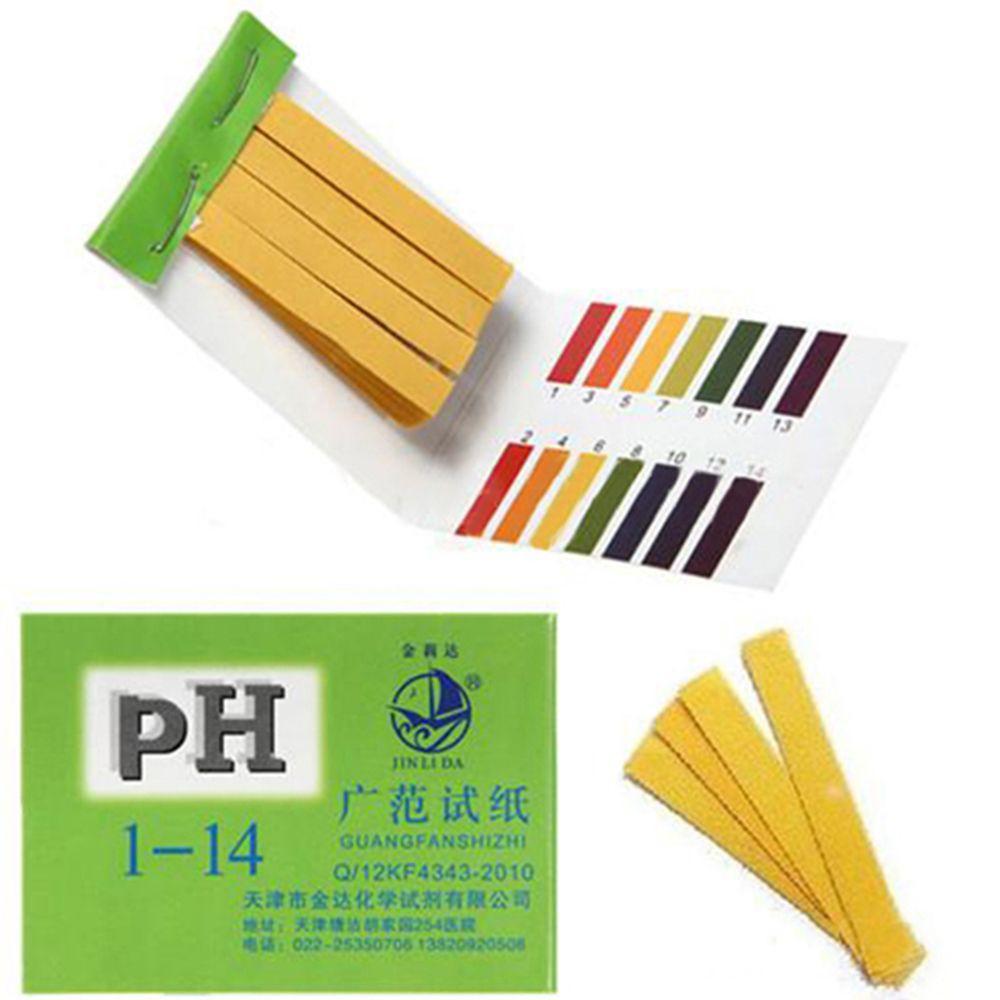 Mini 80 Strips 1-14 Full Range PH Paper Water Alkaline Acid Litmus Tester  Paper