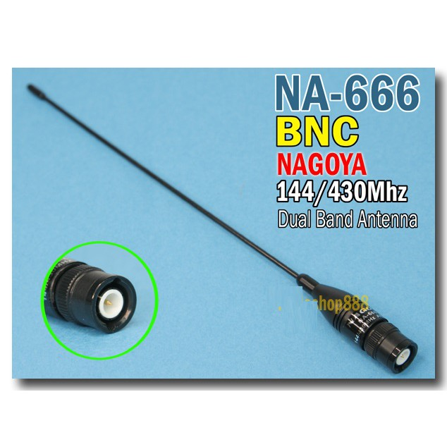 NAGOYA NA-666 BNC for IC-W32A TK-308 TK-208 iIC-U82