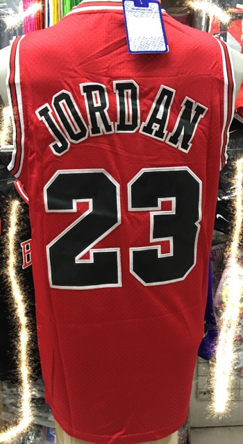 Mens Sport Vest 1989 AllStar MichaelJordan Basketball Jersey #23 Red Loose Shirt