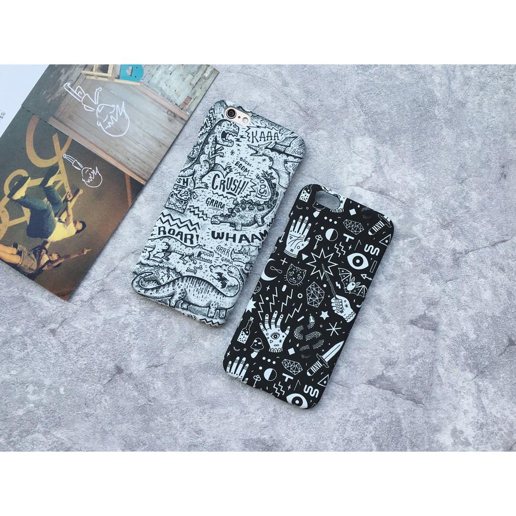 Casing Iphone5 5s 6 6s 7 8 Plus X 3d Palm Dinosaur Hard Case Custom Hardcase Midnight Dots Iphone 4 5 5c Shopee Philippines