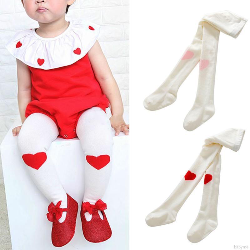 6 Cute Baby Kid Girl Tights Socks Stockings Pants Hosiery Pantyhose 1-3 Years Sm