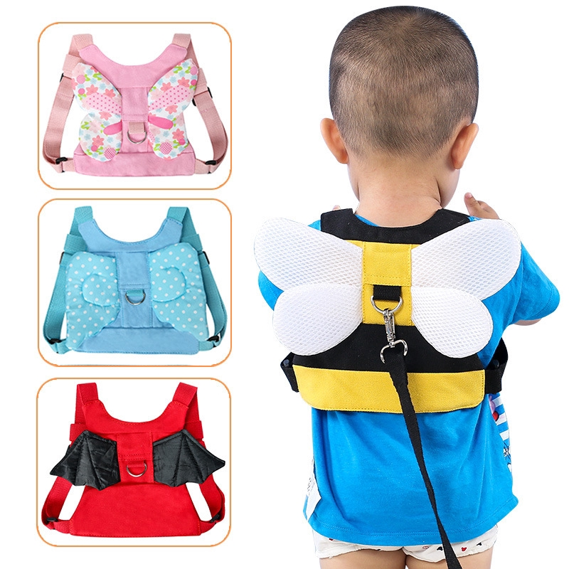 Baby Child Toddler Safety Walking Harness and Reins Black 6m 4yrs New