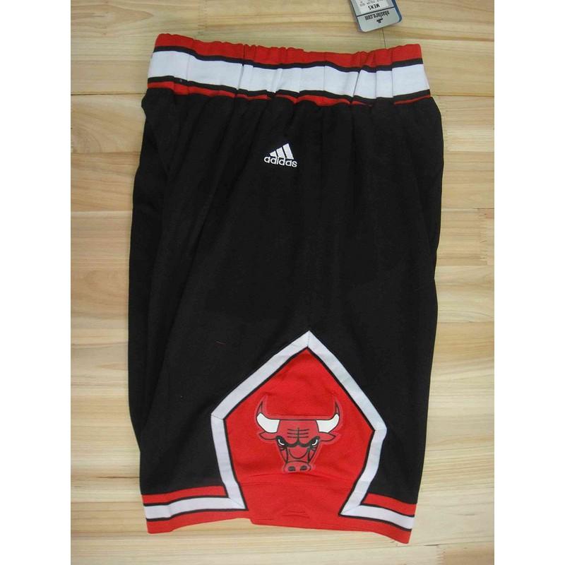 whites Adidas Chicago Bulls basketball NBA shorts black ready stock