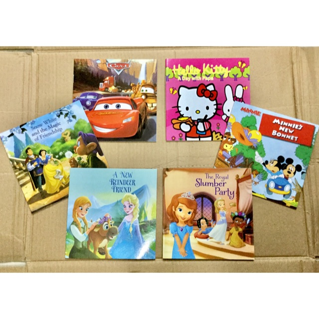 #N66 6in1 STORY BOOKS FOR KIDS IN ENGLISH