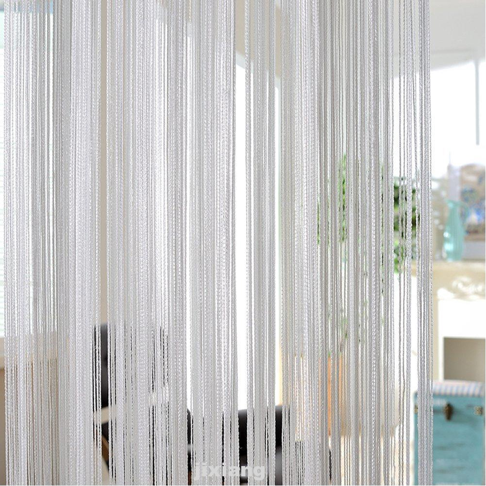 UK Beads String Door Curtain Screen Room Divider Patio Window Blind Fly Curtain