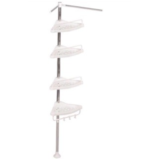 Eli Cod Bathroom Glass Shelf Storage Rack Telescopic Frame Shopee Philippines