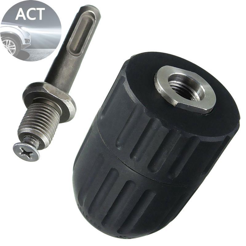 Details about  /Impact Driver Keyless Drill Bit Chuck Adapter Converter Shank 1//2-20UNF Useful