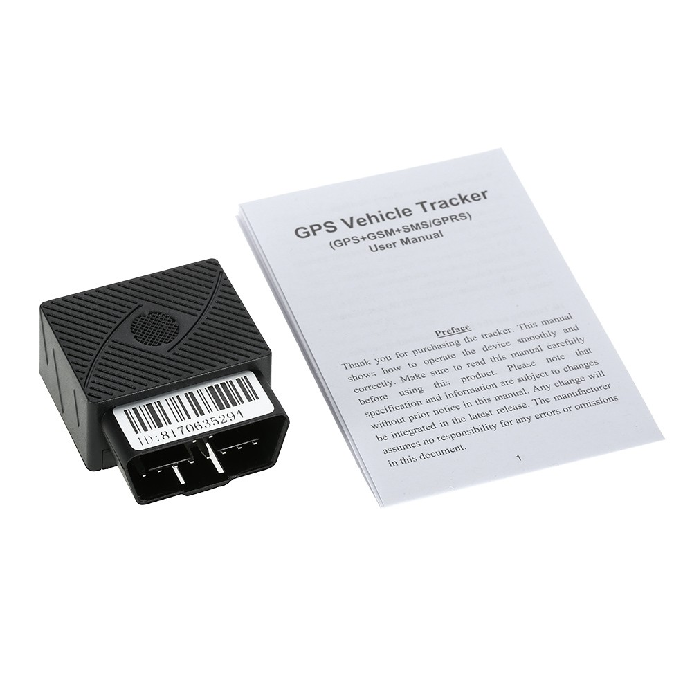 T&T OBD GPS Tracker Car Mini GSM OBDII Vehicle Tracking Devi