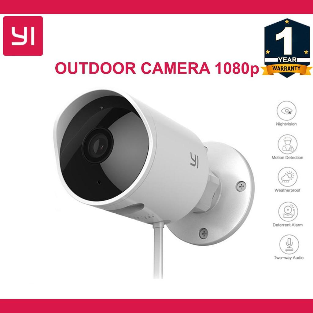 Xiaomi Yi Outdoor Cctv Camera