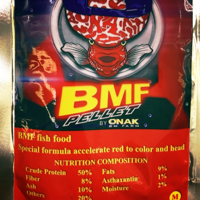 BMF flowerhorn pellets 50gm
