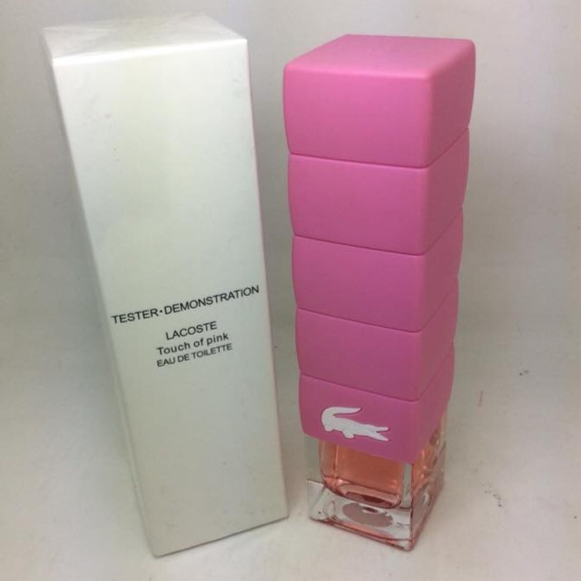 Lacoste Touch of Pink US Tester Perfume