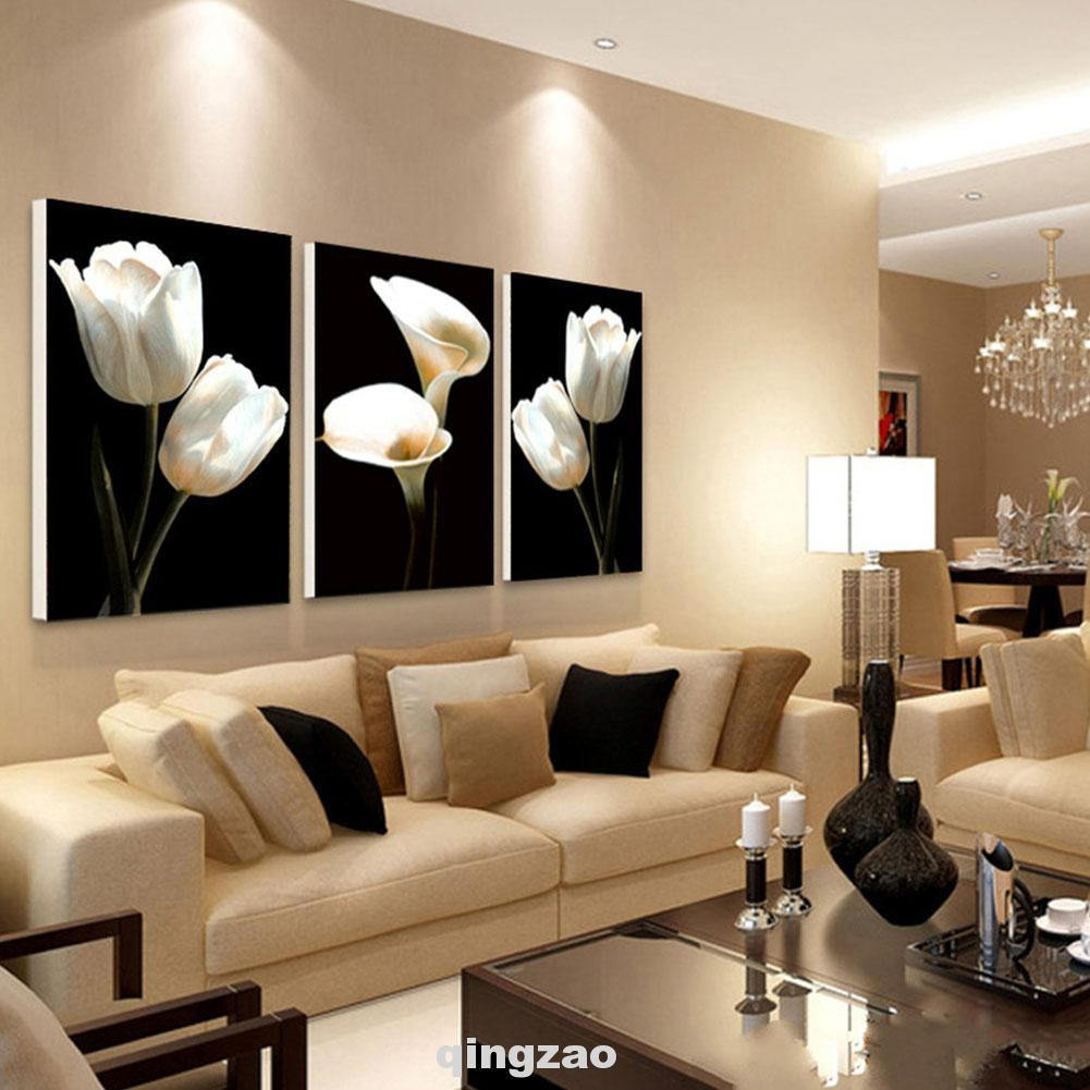 Removable Living Room Hotel 3d Wall Art Oil Painting Shopee Philippines