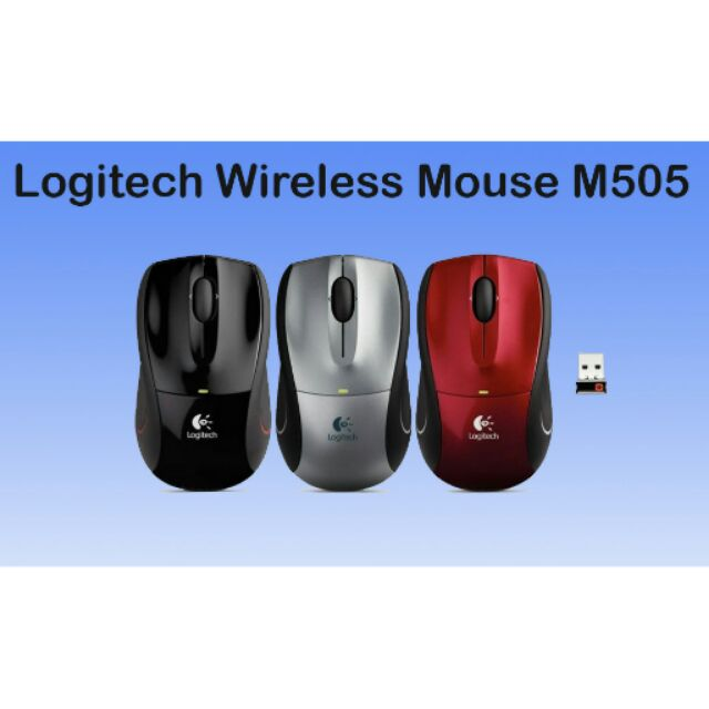 92d482188e1 Logitech Wireless Mouse M505 | Shopee Philippines