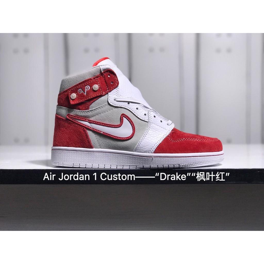 b229c06f394839 SLK Original ☆ nike air jordan 1 Bred Toe aj1 cream red high og retro mens  basketball shoe40-46
