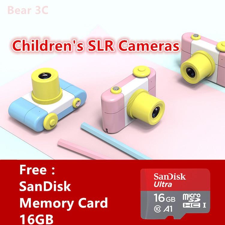 Kids Children Digital Camera Mini Cute Birthday Gifts