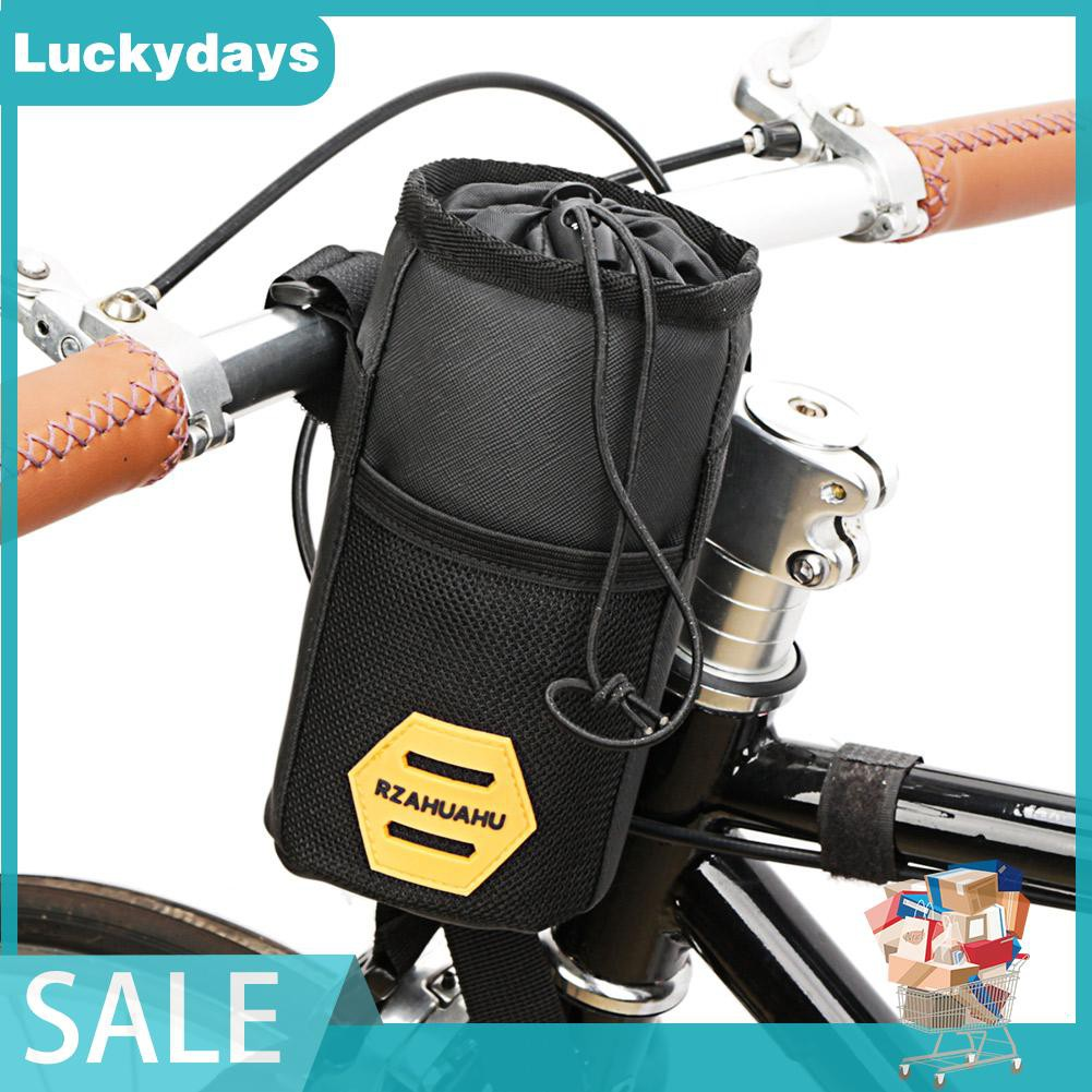 Cod Bicycle Insulated Water Bottle Holder Bag Bike Handlebar Kettle Storage Bag Shopee Philippines