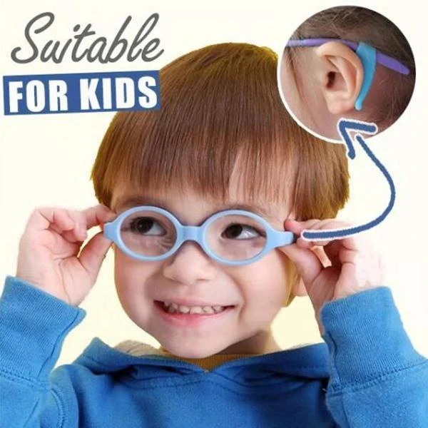 1 Pairs Soft Silicone Anti-Slip Comfort Glasses Retainers / Anti-slip  Eyeglass Holder Ear Hooks / Eyeglass Retainers Grip Holder Eyewear | Shopee  Philippines