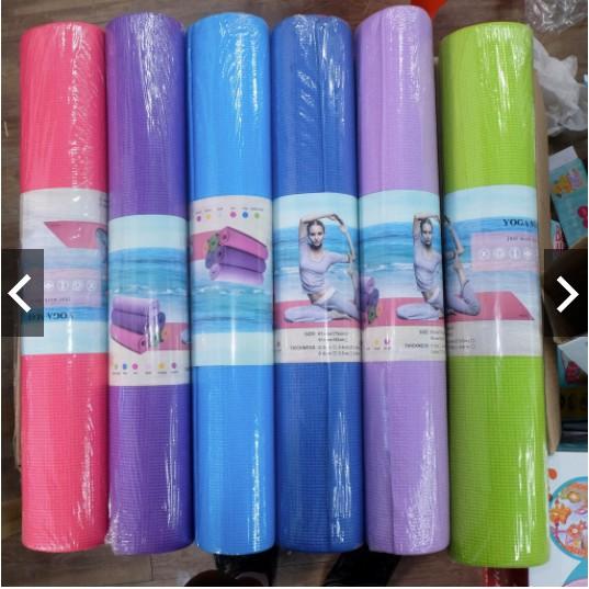 SKT Yoga Mat Size 61cm X 173cm Thickness 0.4cm Matt