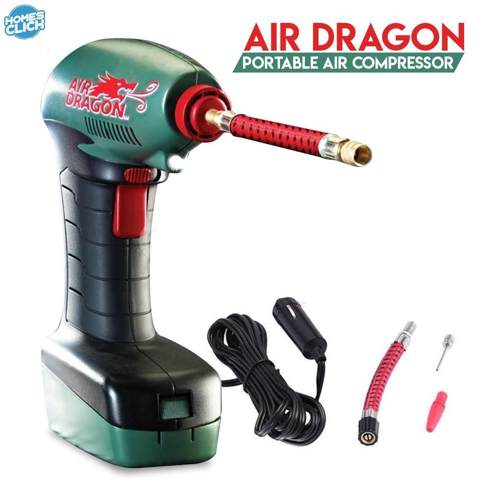 Air Dragon Tire Inflator >> Homesclick Air Dragon Handheld Portable Air Compressor Auto Tire Inflator